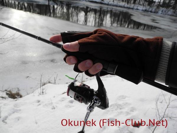 перчатки для рыбалки со спиннингом Polartec Windblock