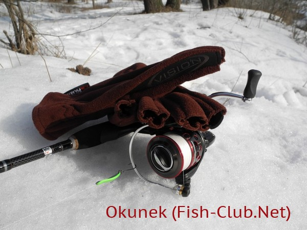 Перчатки для рыбалки Polartec Windblock