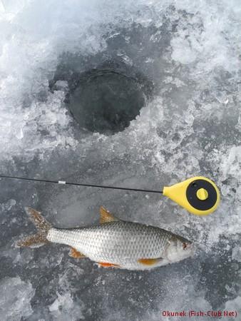 ловля на голубых озерах
