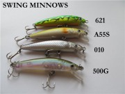 Воблера Strike Pro Swing Minnows